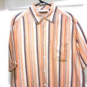 CUBAVERA Linen short sleeve shirt Size XL